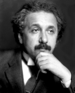 Albert-Einstein-Portrait